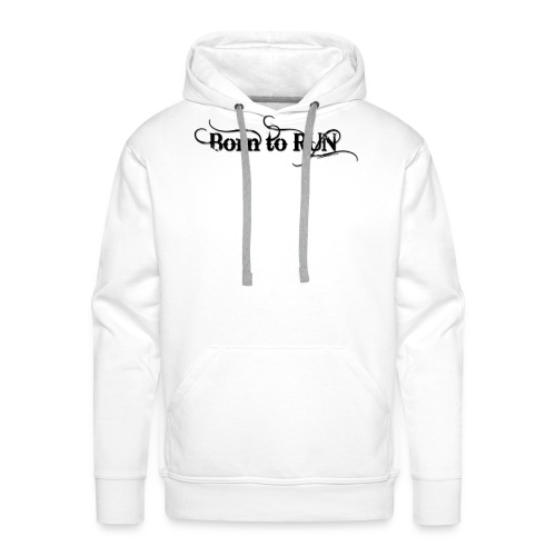 Born-to-RUN---Logo---Black.png - Männer Premium Hoodie