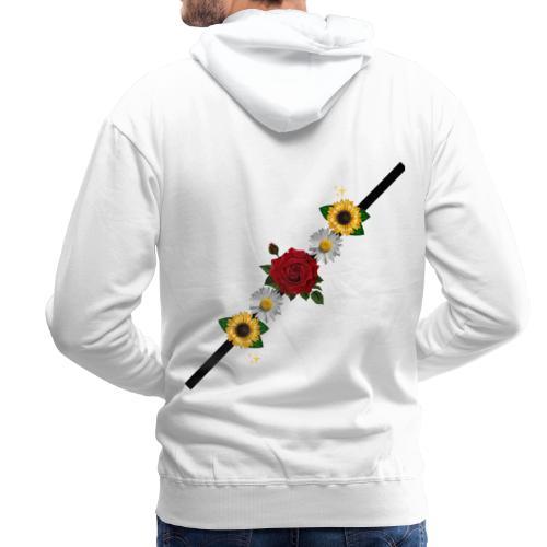 hola - Sudadera con capucha premium para hombre