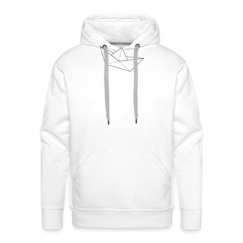 bateau - Sweat-shirt à capuche Premium pour hommes