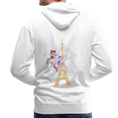 Pole Dance Marianne - Sweat-shirt à capuche Premium pour hommes