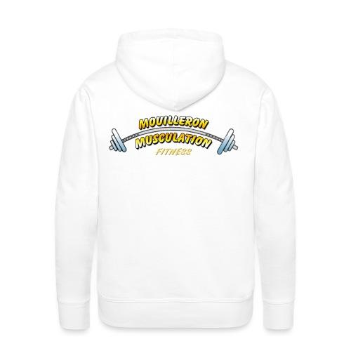 mouilleron muscu logo pour tee shirt 311 - Sweat-shirt à capuche Premium pour hommes