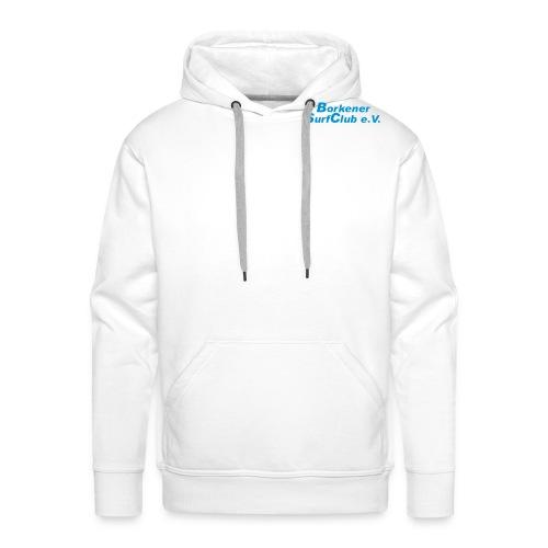 schrift_kurz - Männer Premium Hoodie