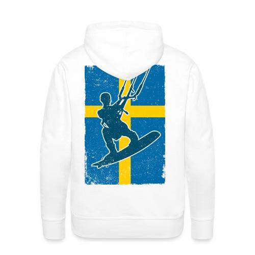Kitesurfer Sweden - Männer Premium Hoodie