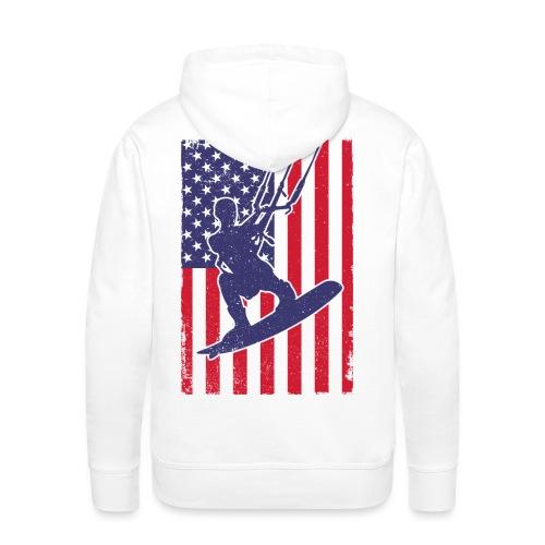 Kitesurfer USA - Männer Premium Hoodie