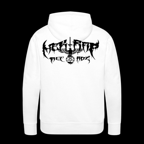 Nek Rap Recordz Logo 3 - Männer Premium Hoodie