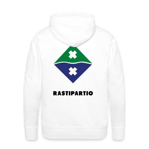 Rapalogo mustalla - Miesten premium-huppari