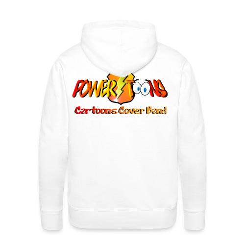 PowertOOns Logo Ufficiale - Felpa con cappuccio premium da uomo