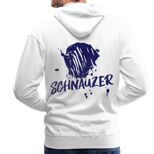 Riesenschnauzer / Schnauzer Comic Design Geschenk - Männer Premium Hoodie