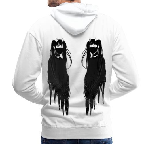 Face To Face - Sweat-shirt à capuche Premium pour hommes