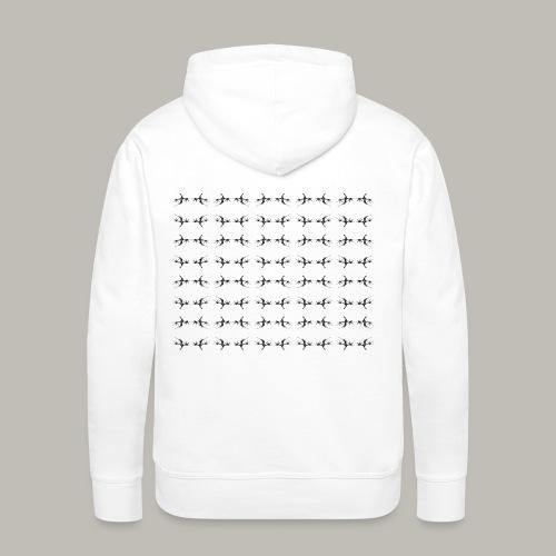 All the dragons - Sweat-shirt à capuche Premium pour hommes