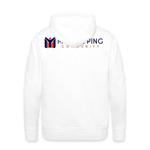 logo MYSC - Felpa con cappuccio premium da uomo