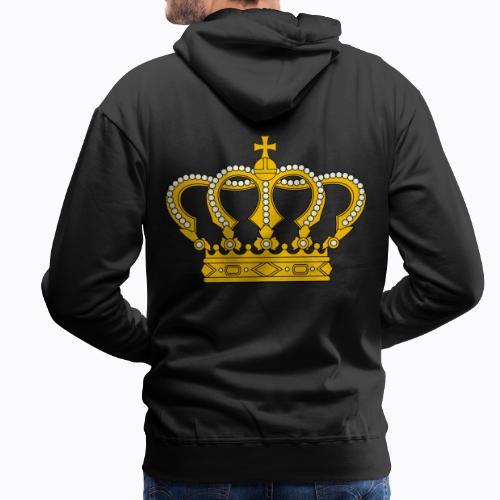 Golden crown - Men's Premium Hoodie