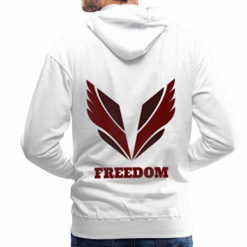 Freedom collection - Sweat-shirt à capuche Premium pour hommes
