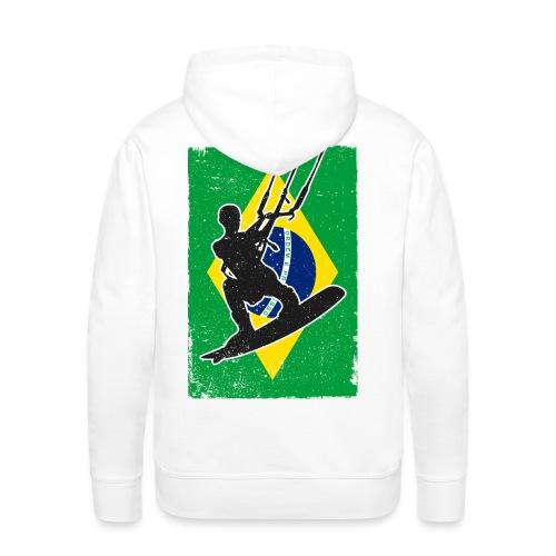 Kitesurfen - Brasilien - Männer Premium Hoodie