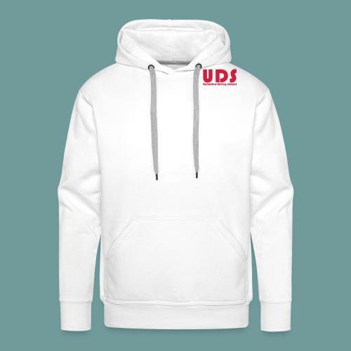 uds_01 - Sweat-shirt à capuche Premium pour hommes