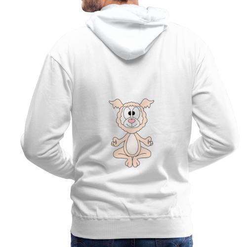 Lustiges Lama - Alpaka - Yoga - Chill - Relax - Männer Premium Hoodie