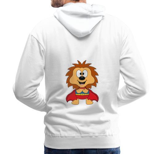 Lustiger Igel - Superheld - Kind - Baby - Tier - Männer Premium Hoodie