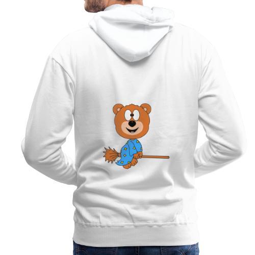 Lustiger Teddy - Bär - Hexe - Kind - Baby - Fun - Männer Premium Hoodie