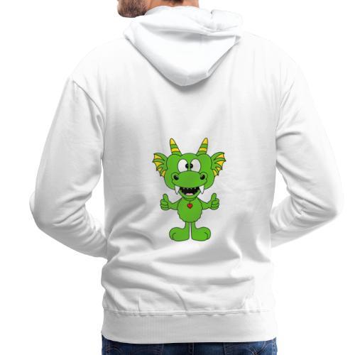 Lustiger Drache - Dragon - Kind - Baby - Fun - Männer Premium Hoodie