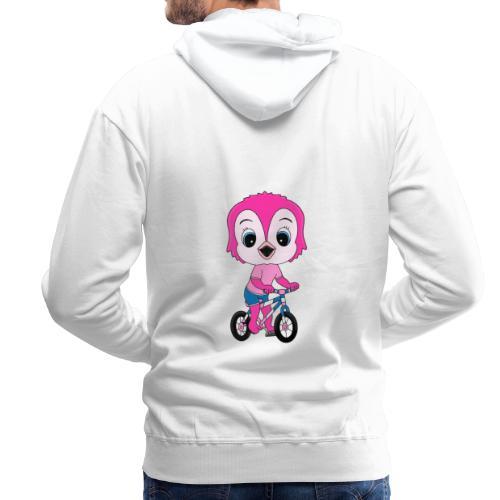 Lustige Eule - Fahrrad - Sport - Kind - Baby - Männer Premium Hoodie