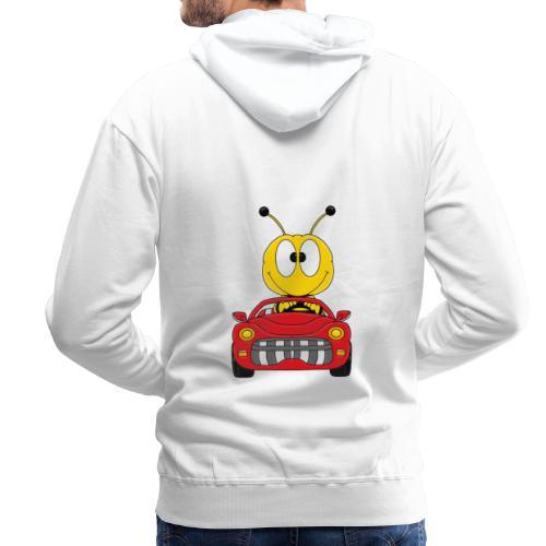 Lustige Biene - Auto - Cabrio - Tier - Fun - Männer Premium Hoodie
