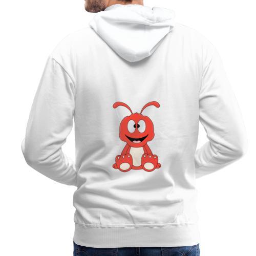 Lustige Ameise - Ant - Kind - Baby - Tier - Fun - Männer Premium Hoodie