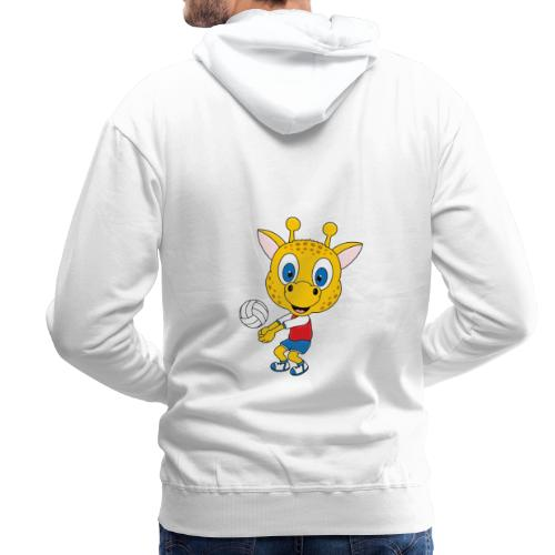 Giraffe - Volleyball - Sport - Tier - Kind - Baby - Männer Premium Hoodie