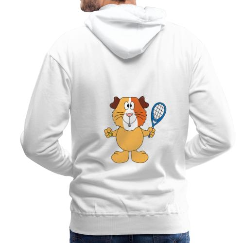 Meerschweinchen - Tennis - Sport - Tier - Kinder - Männer Premium Hoodie