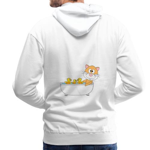 Hamster - Badewanne - Kind - Baby - Tier - Fun - Männer Premium Hoodie