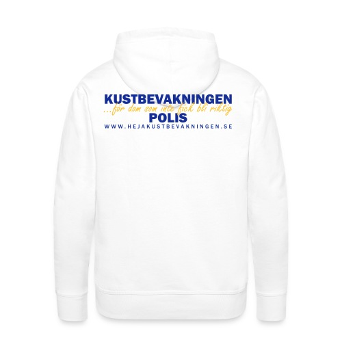 KBV För dom som inte fick bli riktig polis - Premiumluvtröja herr