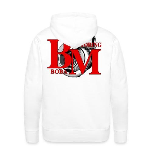 Boba-Motoring Fan Logo - Männer Premium Hoodie