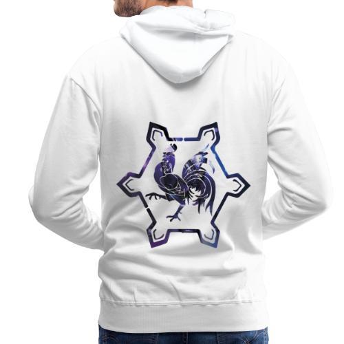 fier d'être carolo - Sweat-shirt à capuche Premium pour hommes