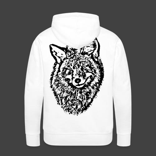 FOX1 - BLACK - Men's Premium Hoodie