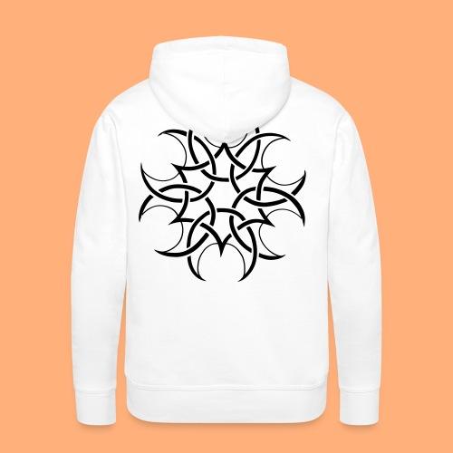 cropcircle - Sweat-shirt à capuche Premium pour hommes