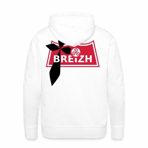 Breizh - Sweat-shirt à capuche Premium pour hommes