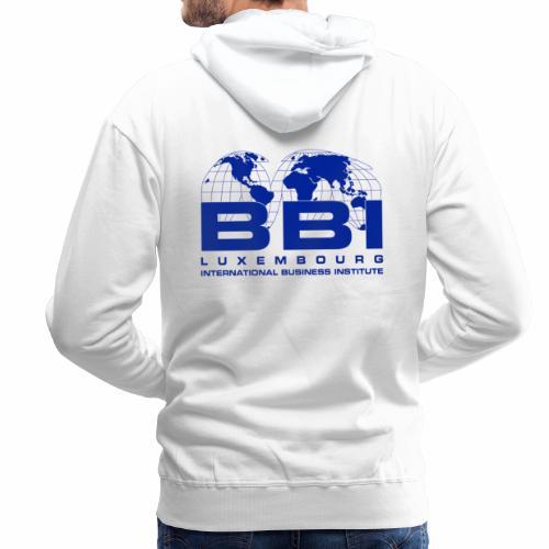 Blue Logo Collection - Men's Premium Hoodie