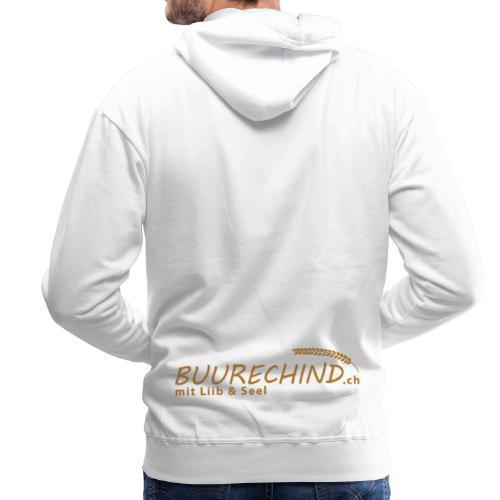 Buurechind.ch - Kollektion - Männer Premium Hoodie