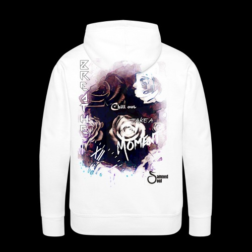 Take a moment rose collage - Men's Premium Hoodie