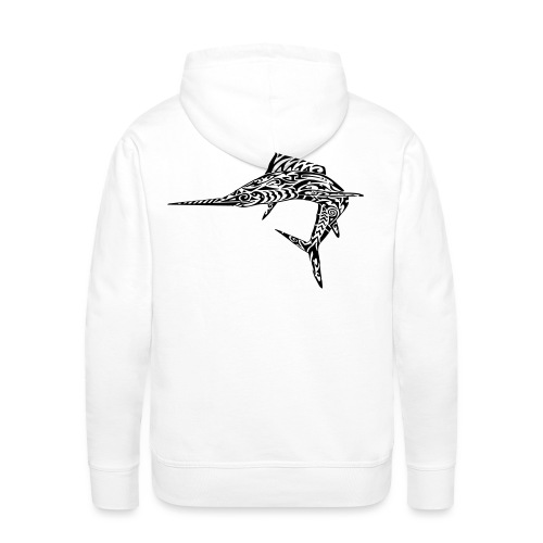 The Black Marlin - Men's Premium Hoodie