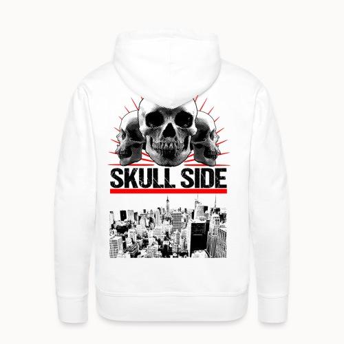 skull side city - Männer Premium Hoodie