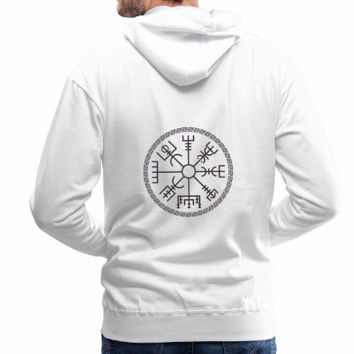Vegvisir wayfinder viking compass - Miesten premium-huppari