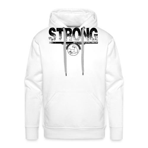 strong png - Premiumluvtröja herr