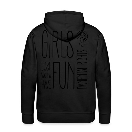 Girls just wanna have fundamental rights - Männer Premium Hoodie