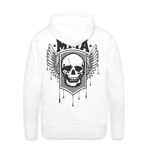 MMA TETE DE MORT - Sweat-shirt à capuche Premium pour hommes