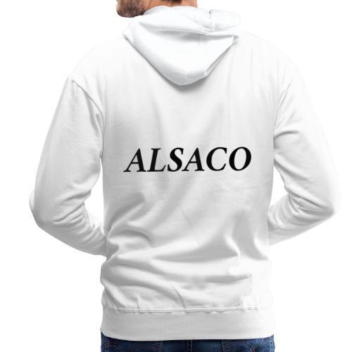 Alsaco classic - Sweat-shirt à capuche Premium pour hommes