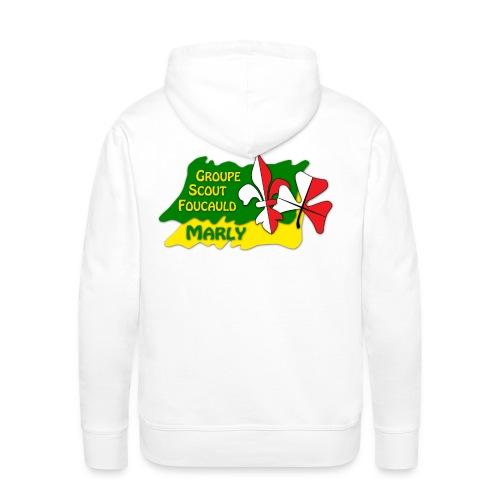 Scout propre - Sweat-shirt à capuche Premium pour hommes
