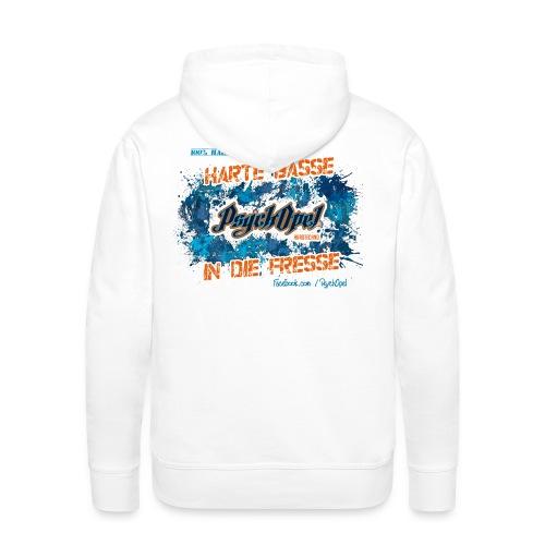 psychopel png - Männer Premium Hoodie