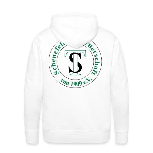 TS Logo schw grün - Männer Premium Hoodie