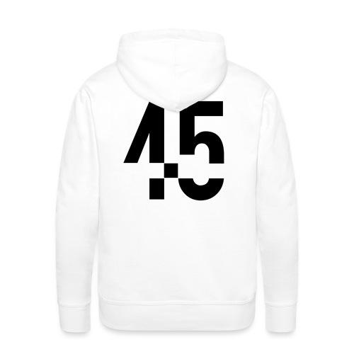 45 Black - Premiumluvtröja herr