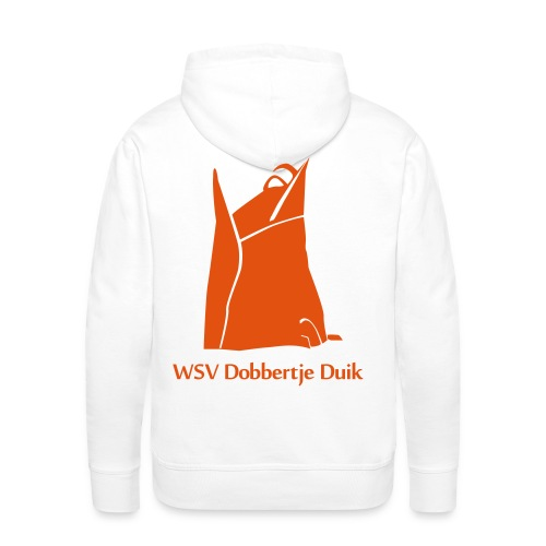 Logo zonder naam - Mannen Premium hoodie